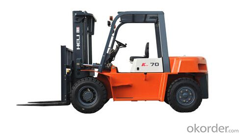 K Series 5-7T I.C. Counterbalanced Forklift Trucks