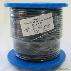 TUV Solar pv cable 1x6mm²