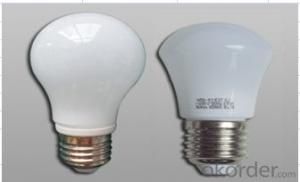 LED bulb, E27 screw-on, AØ45mm*104mm, 3.5W, 8leds, SMD2835, 250-350lm, White 5500-6500K, Ceramics+Glass