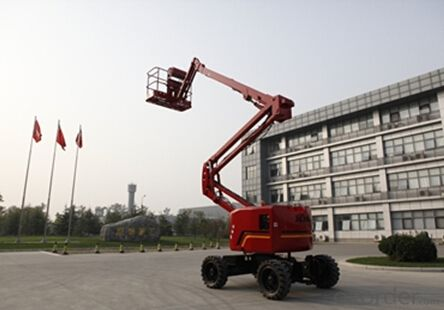GTQZ16 self propelled articulating boom lift
