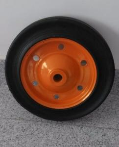 Wheelbarrow tube tire solid tire