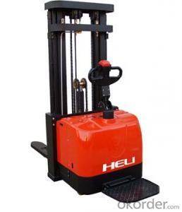 Heavy Mast Narrow Leg Electric Stacker 1.6T