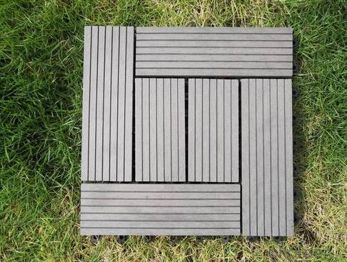 outdoor WPC decking floor