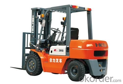 K Series 2-3.5T I.C. Counterbalanced Forklift Trucks