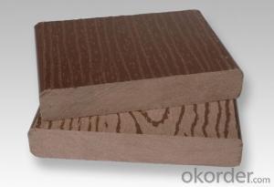wood plastic composite wpc decking floor