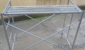 Aluminum scaffolding for Construction
