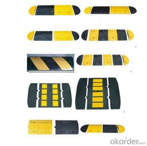Plastic Rubber speed hump