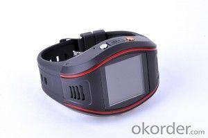 Wrist Watch Personal GPS Trackers with Mobile Phone Function