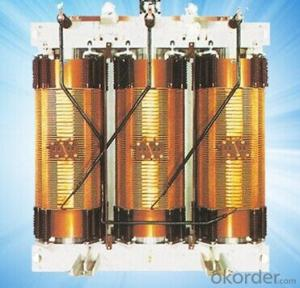 SG(B)10-125~125~2500/10KV Three Phase Impregnated Dry Type Power Transformer