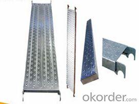 Scaffolding aluminium planks catwalk