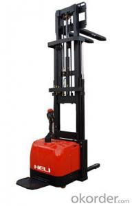 Triplex Masts Narrow Leg Electric Stacker 1.6T
