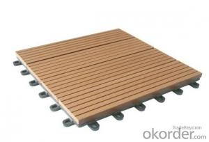 Eco-friendly outdoor wpc decking