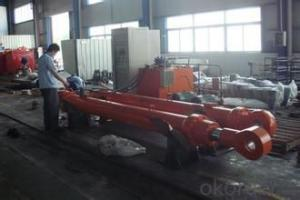 Single Acting Underbody Hydraulic Hoist/Ram For Trailer