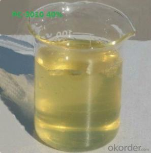 PC-3010 40% Solution Polycarboxylate Super Plasticizer for Concrete
