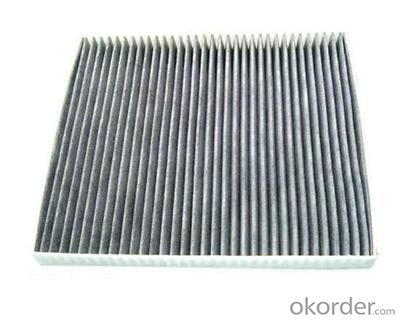 Supplier Aluminum Frame Synthetic Fibre Pleated Panel Air Filters