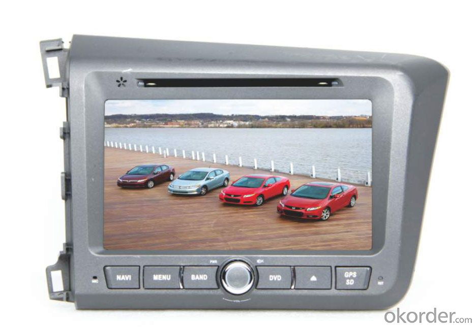 Car DVD Player - Honda Civic Left Driving 2013