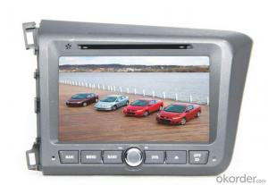 Car DVD Player - Honda Civic Left Driving 2013
