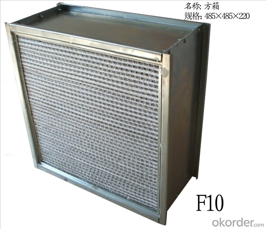 Pleat HEPA Air Filter