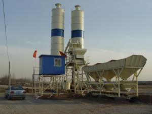HZS 75 concrete batching plant