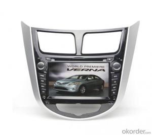Car DVD Player - Hyundai Verna