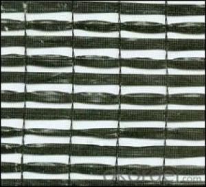 Sunshade net plain woven 50%