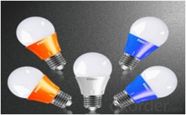 LED bulb, E27 screw-on, AØ60mm*102mm, 5W, 11leds, SMD2835, 400-450lm, White 5500-6500K, Aluminum+Plastic