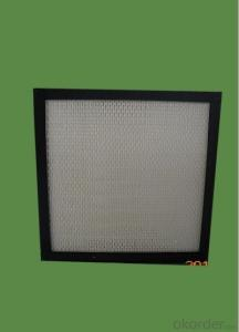 Foctory Aluminum mini pleated HEPA filter