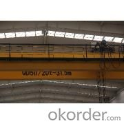 QD50/20t  EOT Double-girder Bridge Crane