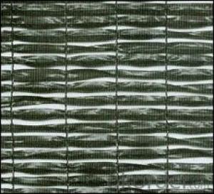 Sunshade net plain woven 60%