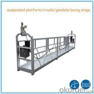 Safe suspended platform cradle ZLP630 2m*3 sections