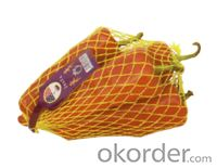 HDPE extruded sleeve fruit bag