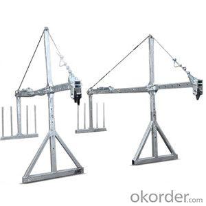 Safe suspended platform cradle ZLP630 2m*3 sections