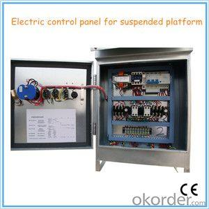Suspended Platform Parts Electrical Control Box With Brand CHINT / SCHNEIDER Inner parts