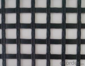 Fiberglass geogrid fabric 100-100KN