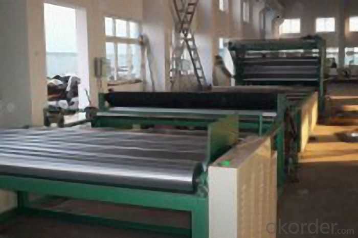 High Polymer Polyethylene WaterproofingMembranes Production Line Hour Capacity 120KG