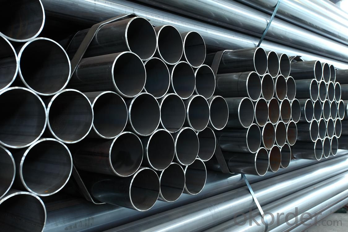 ERW STEEL PIPE ROUND STEEL PIPE MS PIPE PRICES FROM CHINA MANAFACTURES