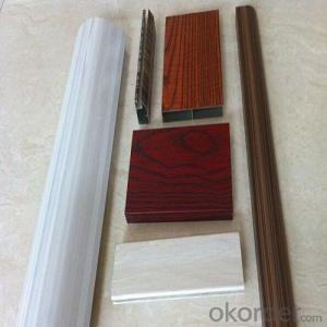 PVC Woodgrain Decorative Foil For Door with Best Price