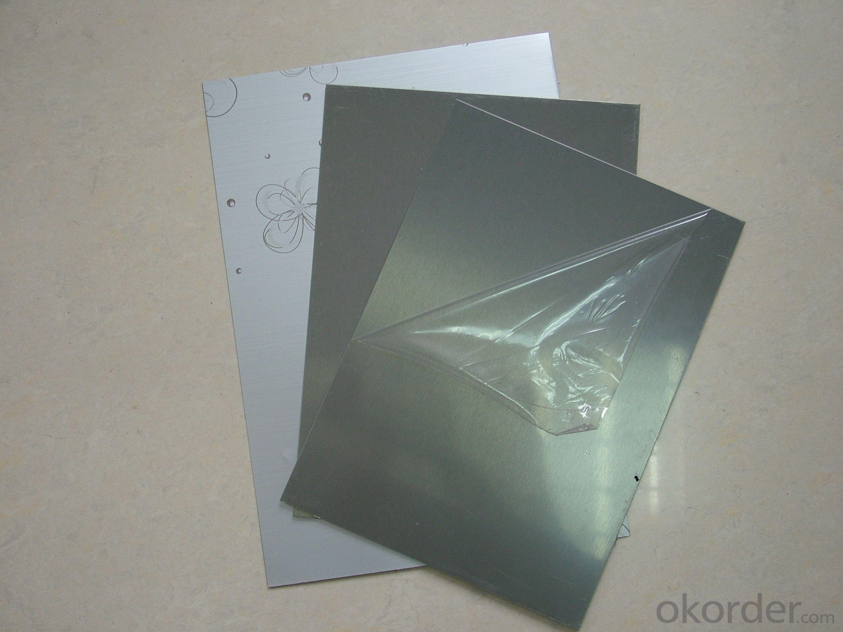 PE black and white film for aluminum composite panel