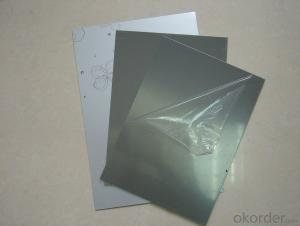 PE black and white film for aluminum composite panel