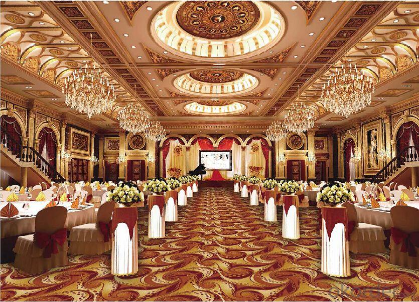 Luxury axminster carpet for restaurant