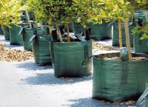 PP woven leaves garden bag