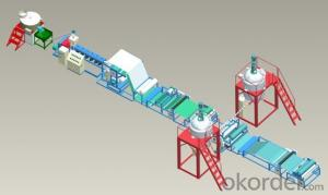 TPO surface coating waterproofing membranes Production Line