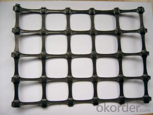 Plastic  Biaxial geogrid  20-20KN