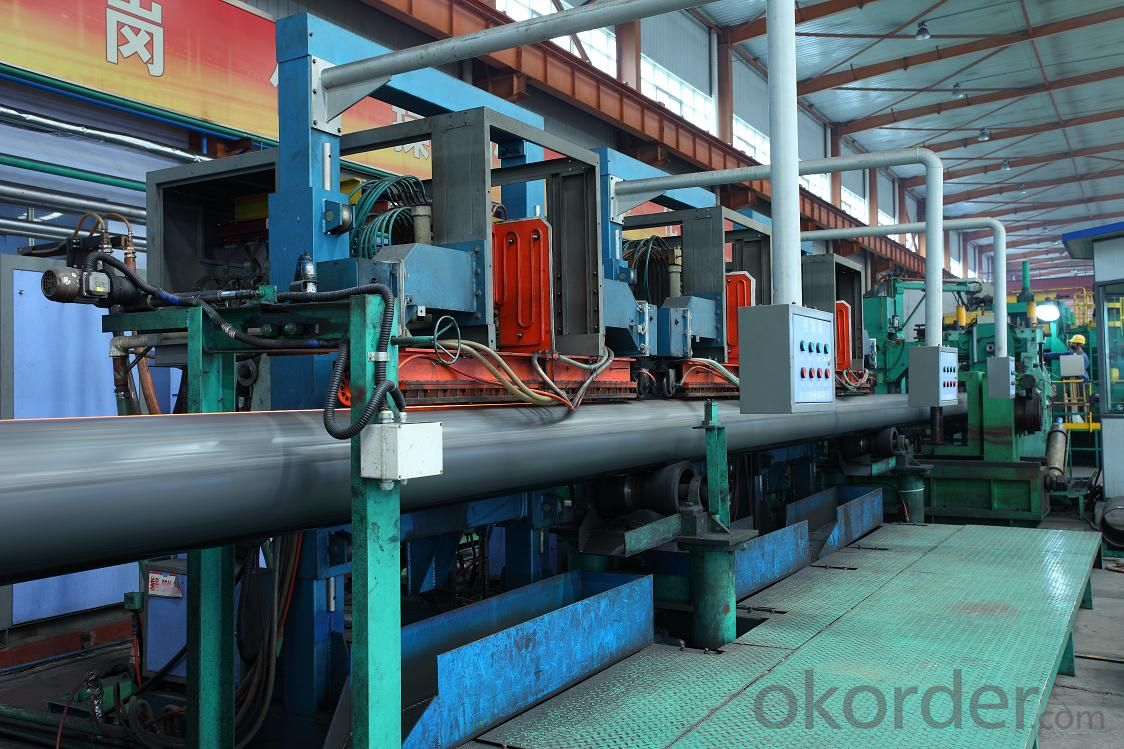 Nature gas longitudinal seam steel line pipe