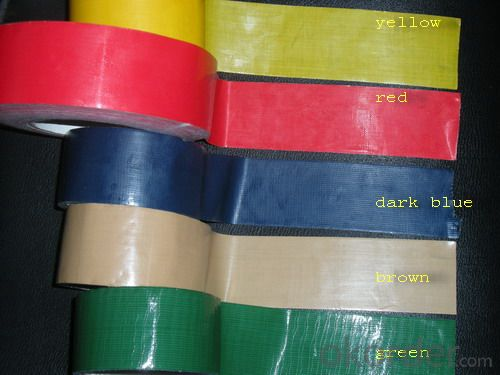 High Quality Carton Sealing and Binding Rubber Based Cloth Tape