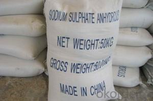 anhydrous sodium sulphate