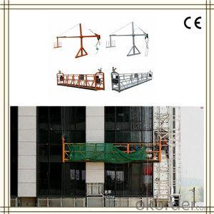 Customized Suspended Working Platform ZLP1000 For Window Cleaning