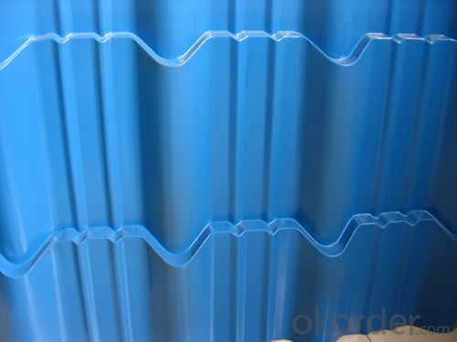 Currugated Prepainted  Steel Sheet in High Quality
