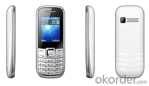 Dual SIM standby GSM network feature mobile phone