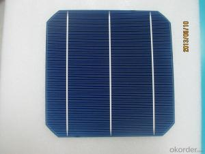 Monocrystal Solar Energy Cell 156*156mm Efficiency with Low Price